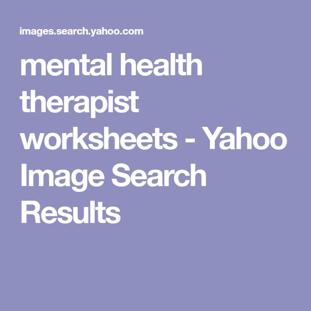 mental health therapist worksheets - Yahoo Image Search Results