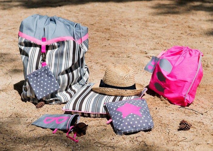 #Patron de set de #plage coloré en vente sur la boutique de Modes & Travaux ! #été