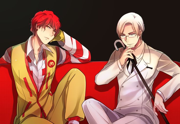APH Ronald McDonald and KFC- I never believed you could change something from greasy to...I think you know