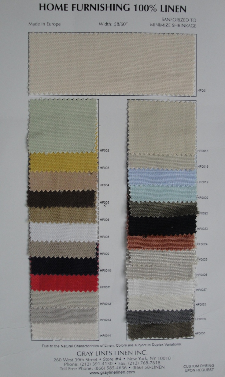 Home furnishings linen $13.00 /yd: Furnishings Colors, Colors Cards, Graylinelinen Com Colors, Weights Linens, Furnishings Linens, Linens Fabrics, Graylin Fabrics, Cards 13 Yard, Families Kids