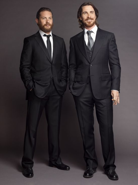 Tom Hardy & Christian Bale- Suit!!!