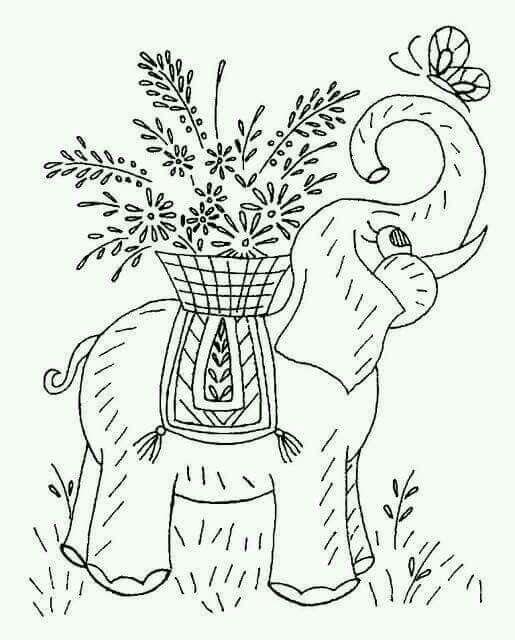 Pin de Luz Begazo en diseños   Embroidery patterns, Embroidery y ...