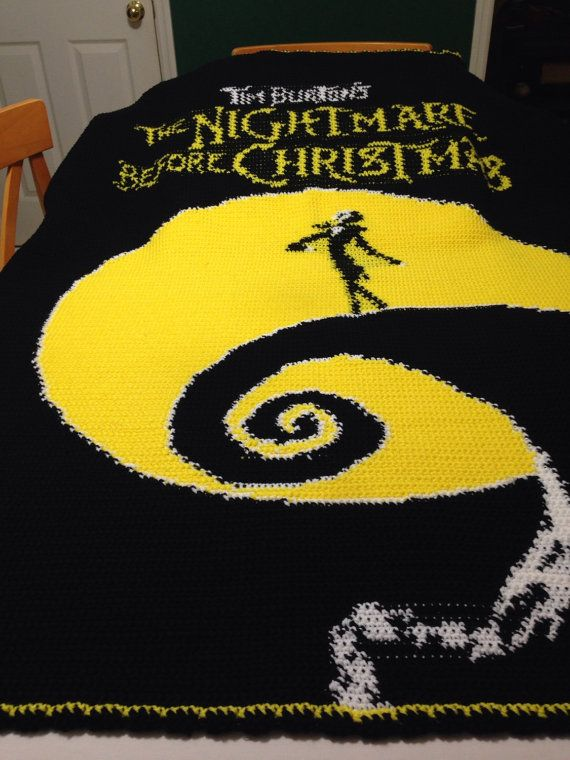 Knitting Pattern Nightmare Before Christmas : RESERVED for Purchase by Ruben Perez Only! Nightmare Before Christmas Inspire...