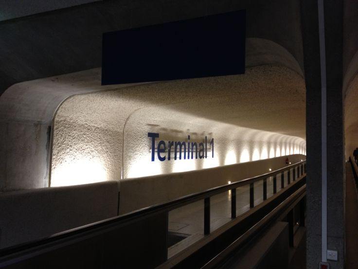 Charles De Gaulle Airport Terminal 1 Turkish Airlines 2012