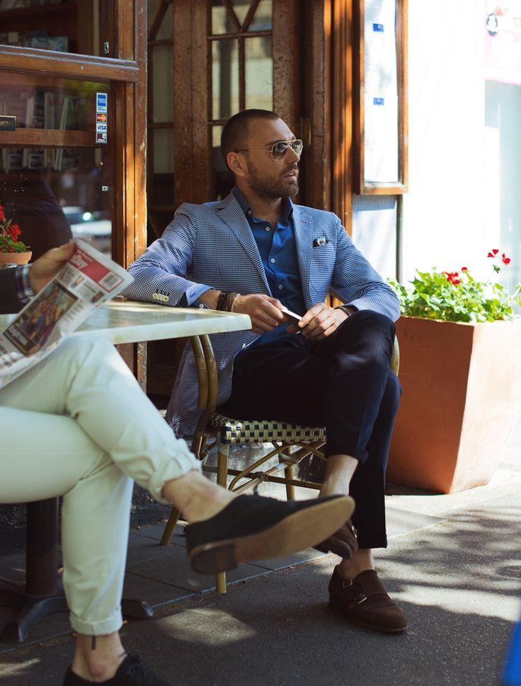 Noah Jacket http://www.mjbale.com/noah-navy-jacket