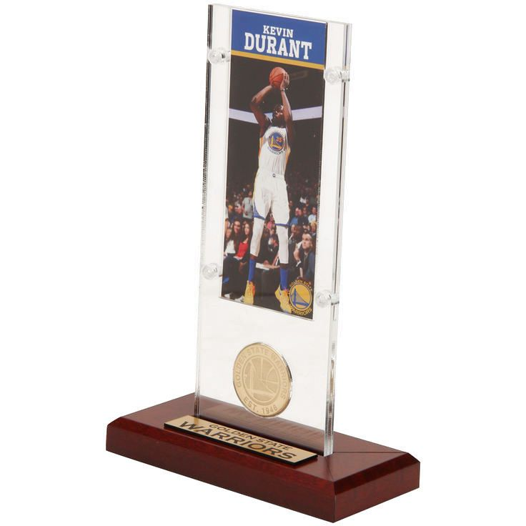 Kevin Durant Golden State Warriors Highland Mint Player Ticket Acrylic - $31.99