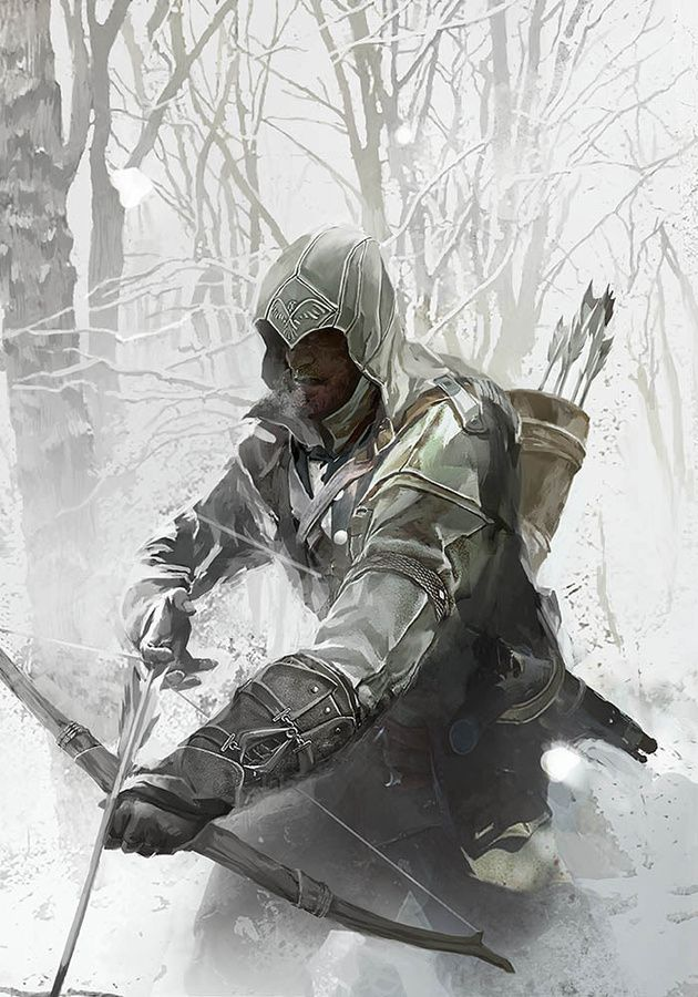 Beautiful Assassins Creed Painting. Fricken A