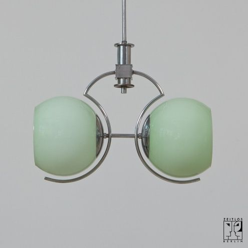 Double light fixture Art Déco ceiling light - Image 1
