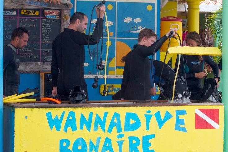 Wannadive Bonaire. #Scuba #Scubadive #duiken
