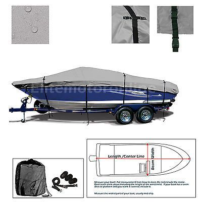 Bayliner 175 BR Bowrider All Weather Trailerable Jet Boat Cover Grey