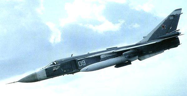 Russia Su-24 Fencer Bomber