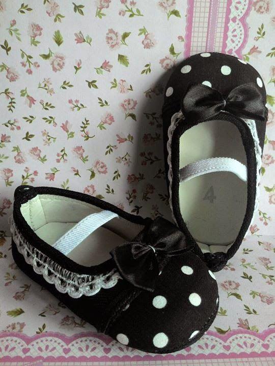 Sepatu bayi perempuan cute