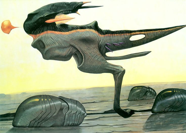145 best images about Fictional animals/creatures on ... Wayne Barlowe Expedition 2