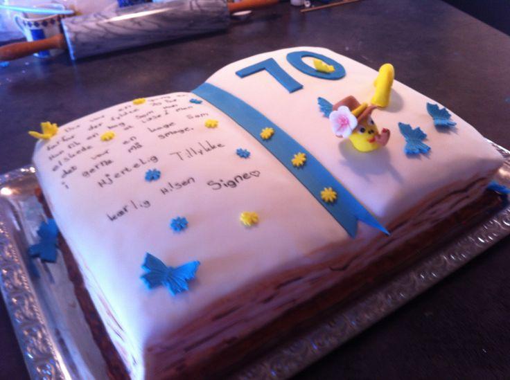 Fødselsdagskage til Poul  Bog
