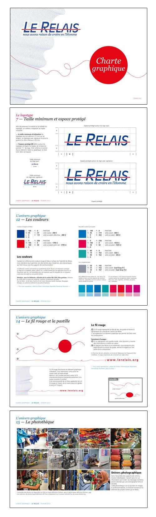 Le Relais : Charte graphique  © Sous Tous les Angles