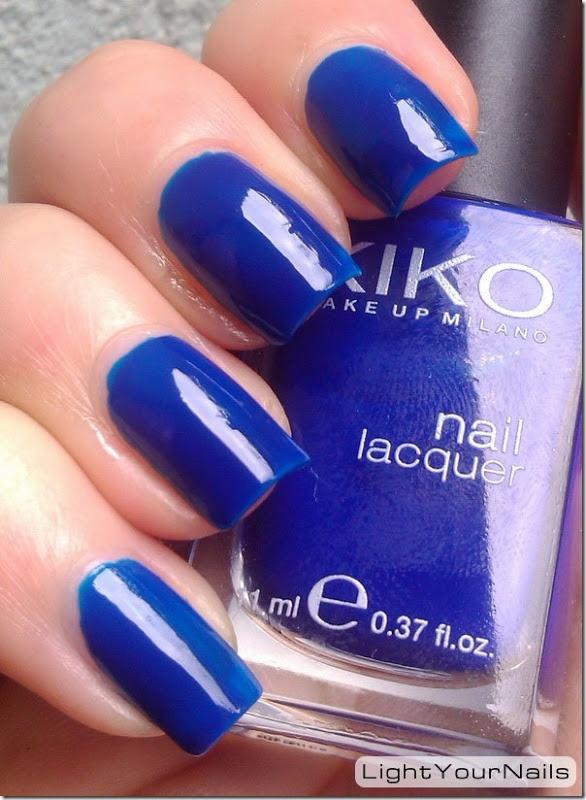 Light Your Nails: Kiko 335