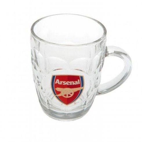 Arsenal F.C. Glass Tankard
