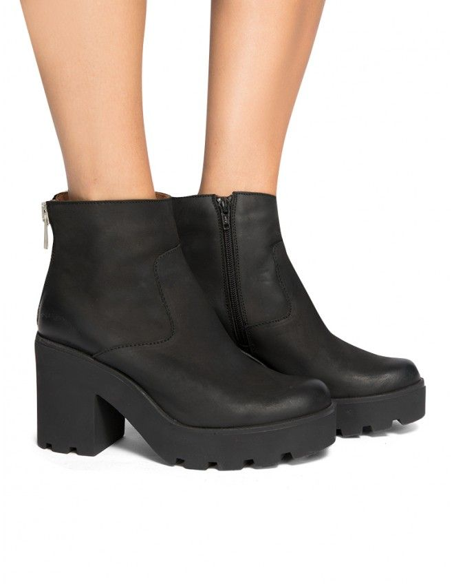 Sixty Seven Boots - Cleated Sole Boots - $172