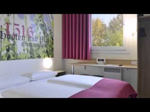 B&B Hotel Ingolstadt - Ingolstadt - Visit http://germanhotelstv.com/bbhotelingolstadt Situated just off the A9 motorway this family-friendly hotel offers soundproofed rooms with free wireless internet.  The centre of Ingolstadt and the Audi headquarters are a 10-minute drive away. -http://youtu.be/QveOKN9Brek
