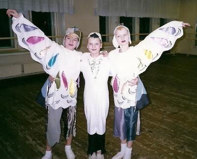 Детские самодельные костюмы птиц