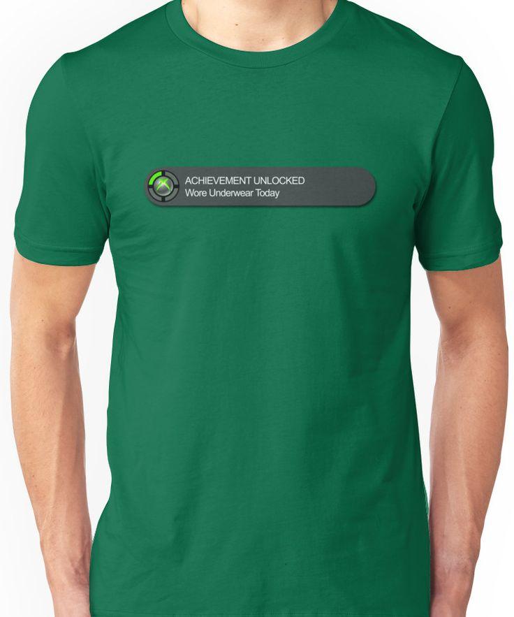 Xbox 360 Achievement Unlocked Unisex T-Shirt