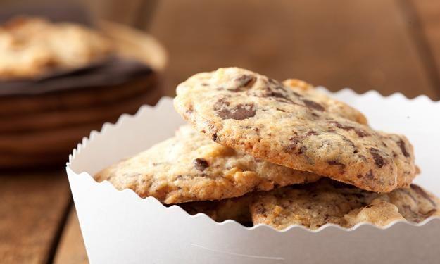 Schoko-Cookies mit Marzipan » Sanella