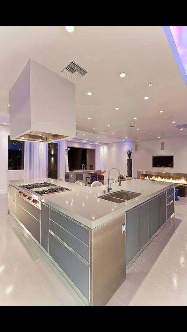 81 best ultra modern kitchens images on pinterest for Ultra modern kitchen designs