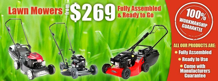Are you looking for high quality power equipment to create and maintain your outdoor areas? Trinity Mower Centre is your one-stop-shop for your outdoor requirements. At Trinity Mower Centre, we have a combined 55 years of industry experience....