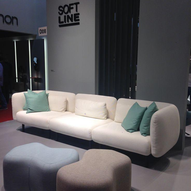 Elle Sofa At Milan Design Week 2016 L By Softline L Design Charlotte Høncke  | Charlotte Høncke Design | Pinterest | Design Week 2016