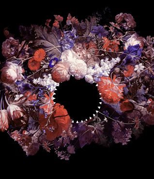 Magnus Gjoen: American Psycho   www.kidsofdada.com/products/american-psycho #art #flower #roses #print