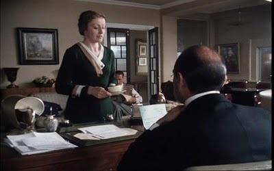 Forest Green - Poirot, Miss Lemon