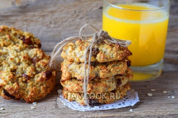 Печенье овсяное на кефире