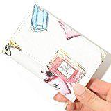 #10: (ディーループ)D-LOOP 総柄 プリント カードケース 名刺ケース パスケース 大容量 PUレザー カード入れ レディース 122082