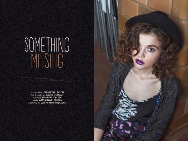 """Katarzyna Świerc: """"Something missing"""" http://www.confashionmag.pl/webitorial/artystyczny-czwartek-something-missing.html"""