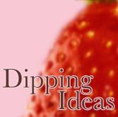 list of dipping ideas for chocolate fountain