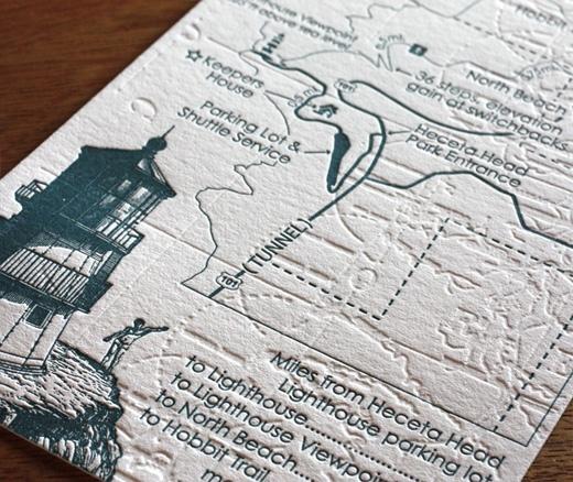 Cape Cod Wedding Map