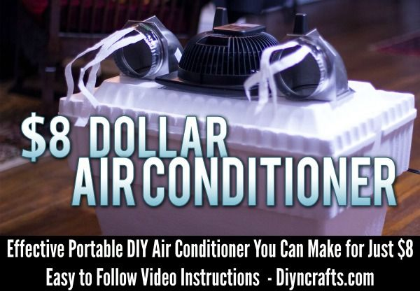 If you don't have air conditioning, you really don't have to spend a fortune to cool yourself during the hot summer months. You can make your own portable air conditioner that will perfectly cool any room that you are in at the time. This little gem costs only about $8 and will really lower the...