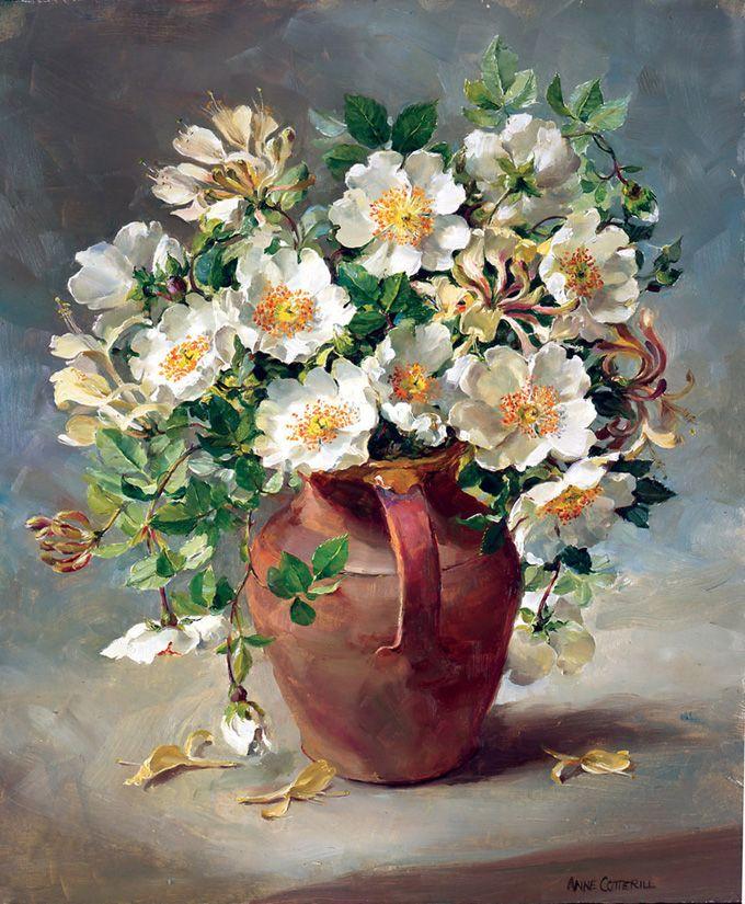 Galería de Anne Cotterill reproducción Flower Prints and Fine Art Cards.   Mill House Fine Art - Editores de Anne Cotterill la flor del arte