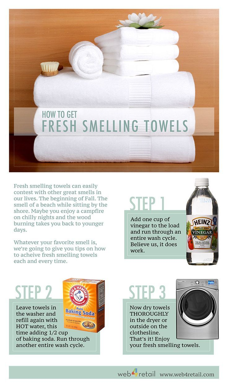 We hope you enjoy the tips on How to Get Fresh Smelling Towels. Of course
