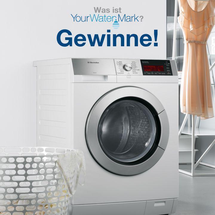 Finde heraus, wie du Wasser sparen kannst und mit etwas Glück gewinnst du ein Wasser sparende Waschmaschine von Electrolux.
