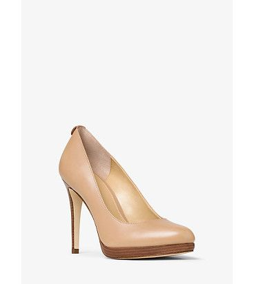 Georgia leather pump by MICHAEL Michael Kors.