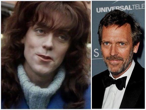 Estrellas de Cine Que Se Vistieron de Mujer: Hugh Laurie en A Bit of Fry and Laurie