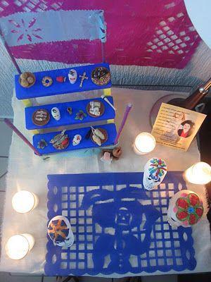 Coffee Break: DIA DE MUERTOS: Altar Miniatura / Day of the Death: Mini Altar