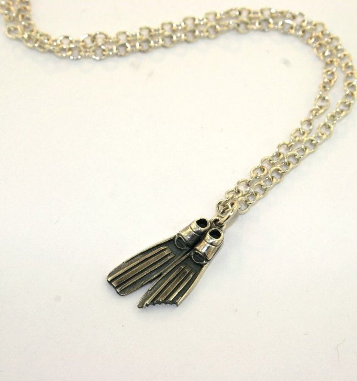 our great one off Flipper charm necklace...a perfect give away for Paddle round the pier comp!!