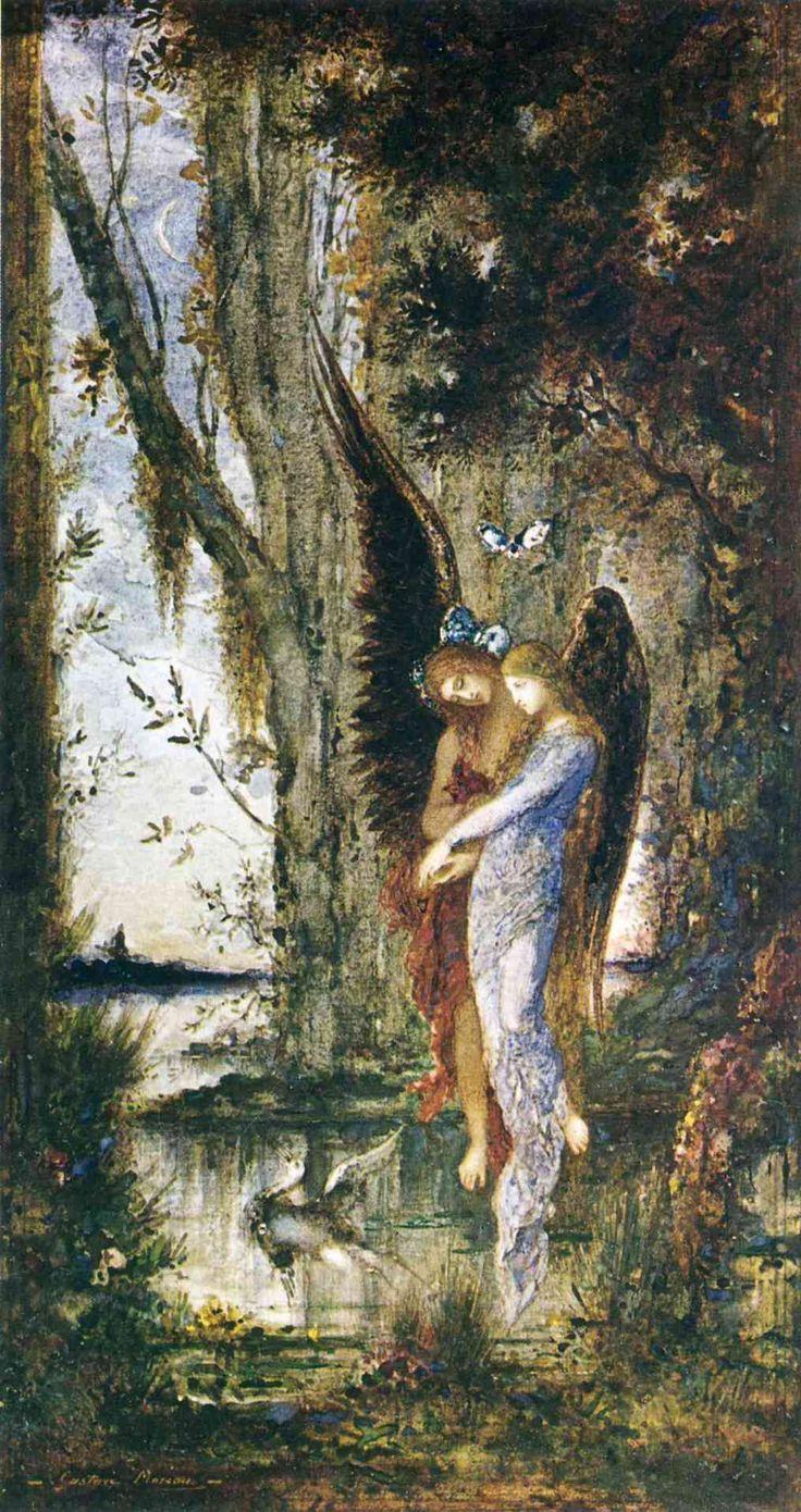 Evening and SorrowGustave Moreau    c.1882