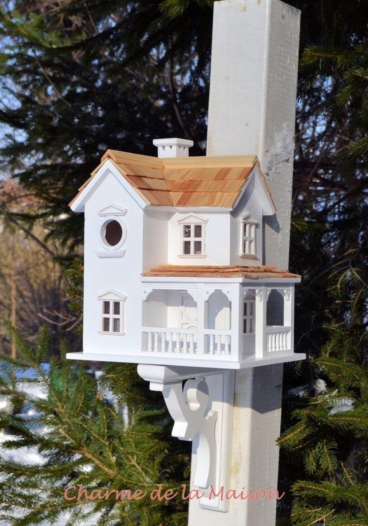 Vogelhaus New England www.charmedelamaison.de/Gartendekoration/NewEngland.html