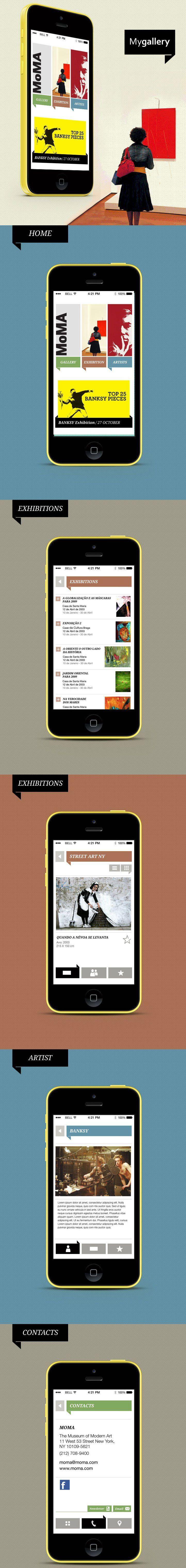 My Gallery // Museum App