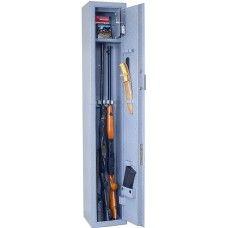 ОШ-3Э - Односекционный оружейный сейф (шкаф) на 3 ружья высотой до 1350 мм.