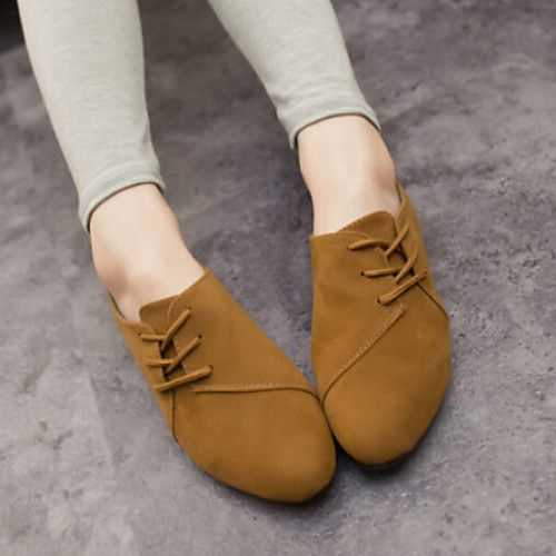 Mujer Zapatos Tejido Primavera Verano Otoño Confort