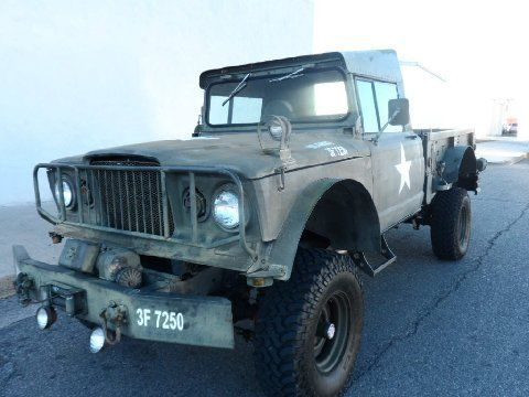1967 Kaiser Jeep Truck M715. 4×4 with wench and rack, on a F150 chassis with coil shocks and big block V8 400 engine. Automatic transmission, vintage Colorado license plate good until 2020. Almost no rust, good running condition. Can be viewed in Buena Vista, Colorado. Questions will be forwarded to owner.